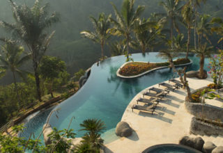 Padma-Resort-Ubud-Infinity-Pool-Aerial