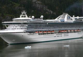 Golden Princess cruise ship