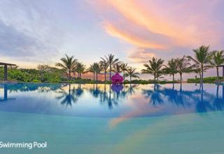 Fairmont-Sanur-Main-Swimming-Pool-Sunrise