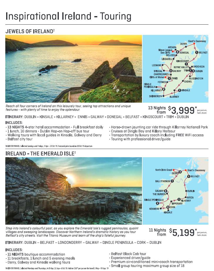 Inspirational Ireland Self-Drive 3